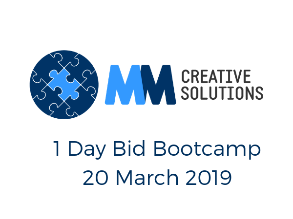 MM Creative Solutions 1 Day Bid Bootcamp 20 March 2019